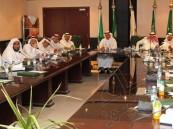 أمين #الأحساء يستعرض مشاريع الأمانة لأعضاء المجلس البلدي