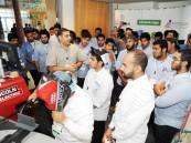 أكثر من 2000 طالب يزورون المسابقة الخليجية ويتفاعلون مع المهارات الثمانية