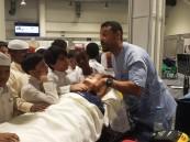 """مستشفى """"عبدالرحمن بن فيصل"""" يُدرَّب الزوار على الإنعاش بمعرض """"طب الطوارئ 3 """""""