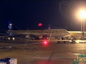 الخطوط السعودية تؤجل جميع رحلات الرياض حتى الـ 11 بسبب الأحوال الجوية