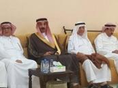"""الأمير عبدالعزيز بن جلوي يُعزي أسرة """"النعيم"""""""