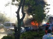 بالفيديو.. قتيلان وأكثر من 20 مصاباً صهيونيًّا في تفجير حافلة بالقدس