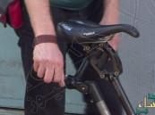 بالفيديو.. هذا أغرب ابتكار لدراجة هوائية في العالم !!