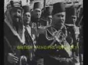 """بالفيديو.. المصريون يستقبلون الملك """"المؤسس"""": """"صقر الجزيرة"""" كما وصفته صحافتها"""