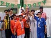 ابتدائية الأمير نايف بن عبدالعزيز تختتم بطولة كرة القدم وتتوج الأبطال