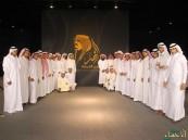 """طلاب ثانوية العيون العامة في معرض الملك فهد """"روح القيادة"""" يرحمه الله"""