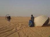 """بالصور.. العثور على """"ثلاثيني"""" متوفياً في صحراء #الأحساء !"""