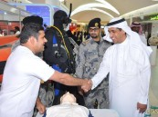 اختتام فعاليات أسبوع حرس الحدود وخفر السواحل الخليجي الرابع