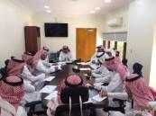 اجتماع دوري لمدراء مستشفى الأمير سعود بن جلوي بالأحساء