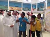 """13 ركن مميز في معرض التربية البدنية والرياضة الأول في ثانوية"""" الملك خالد"""""""