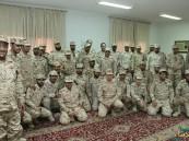 ترقية 16 فرداً من منسوبي الطب العسكري الميداني في الأحساء