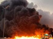 ١٢حالة وفاة و١١ إصابة في حريق مصنع شركة الجبيل المتحدة للبتروكيماويات