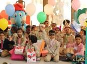 بالصور.. علم الاجتماع والخدمة الاجتماعية بجامعة الملك فيصل يحتفي باليوم العالمي لليتيم