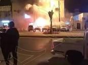 بالصور.. الداخلية: مقتل مقيم في انفجار عبوة استهدفت دورية أمنية