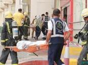 """بالصور.. """"حريق"""" فرضي يستنفر """"الجهات"""" في #مستشفى_الموسى_التخصصي"""