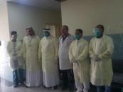 """بالصور.. مستشفى العيون يطبّق أسس مكافحة العدوى بـ""""كورونا"""""""