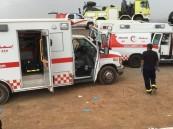 """مصرع و إصابة 5 في حادث مروع على طريق """" خريص #الأحساء """""""