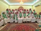 """ضمن برنامج عيش السعودية : 40 طالب من تقنية """"الرياض"""" في زيارة لديوانية العليو بالأحساء"""