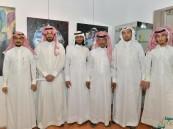 """بالصور.. """"ملتقى عسق"""" بفنون #الأحساء يجمع إبداع 25 فنانة أحسائية وعربية"""