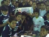 """بالصور.. نادي حي الأمير سعود بن جلوي يفتتح """"أكاديمية"""" كرة القدم"""