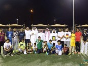 """بالصور.. ليلة رياضية يقيمها طاقم #الأحساء_نيوز في نادي حي """"الأمير محمد بن فهد"""""""