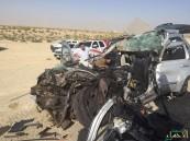 بالصور.. وفاة وإصابتين حرجة بحادث مروري مروع في #الشرقية