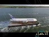 بالفيديو.. ما حقيقة هذه الطائرة التي تطفو على المياه ؟!