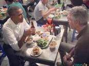 """بالصور.. عشاء أكبر رئيس جمهورية في العالم بـ 6 دولارات فقط خلال زيارته لـ""""فيتنام"""""""