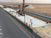 الكفاح للخرسانة الجاهزة والطابوق تصب الخط الرابع لمشروع مترو الرياض