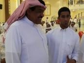 """""""الخليفة"""" يكرم بطل المنتخب السعودي """"الصقر"""""""