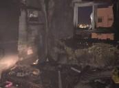 بالصور.. اختناق شاب ونجاة 13 في حريق مبنى سكني في خالدية #الأحساء