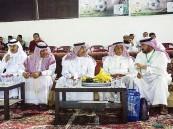"""""""القرينيس عضو الاتحاد السعودي وعدد من قيادات الرياضة يتفقدون ملاعب """"المنيزلة"""""""