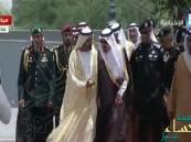 #الملك_سلمان يستقبل قادة ورؤساء وفود دول مجلس التعاون