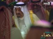 بالفيديو والصور.. خادم الحرمين يشّرف ملعب الجوهرة لرعاية نهائي الملك