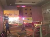 بالصور.. تسريب غاز يصيب ٤ مقيمين بحروق في #الأحساء
