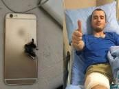 """بالصور.. """"أيفون"""" ينقذ جنديا تركيا من رصاصة قاتلة !"""