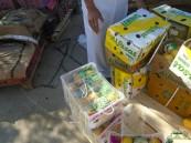 بالصور.. حملة مداهمات بسوق #الأحساء المركزي تُتلف 58.9 طن أغذية فاسدة