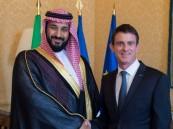 بالصور.. ولي ولي العهد يبحث مع رئيس الوزراء الفرنسي أوجه التعاون بين البلدين