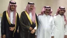 """بالصور.. محافظ #الأحساء الأمير بدر بن جلوي في زيارة للشيخ محمد """"الحراجين"""""""