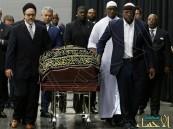 """بالصور… شاهد جنازة الملاكم """"كلاي"""" الإسلامية المهيبة"""