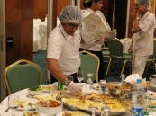 بالصور.. أكثر من ٧٠ ألف وجبة لحفظ النعمة من فائض الطعام خلال عام