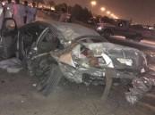 بالصور.. وفاة وإصابتين بعد حادث أليم في #الشرقية