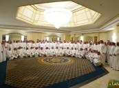 """منسوبي بنك """"الرياض"""" في #الأحساء يجتمعون على المائدة الرمضانية"""