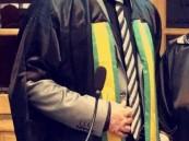 """""""مسلم الدوسري"""" ينال الدكتوراة بامتياز مع مرتبة الشرف الأولى"""