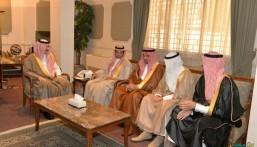 الأمير بدر بن جلوي يستقبل إدارة  المعهد الوطني للتدريب الصناعي NITI