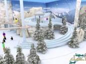 بتكلفة 100 مليون ريال .. إطلاق أكبر مدينة ثلجية في المملكة قريبًا