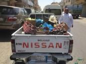 حصاد 8 أشهر: إغلاق 236 محلاً مخالفاً ومصادرة 23 طن أغذية فاسدة في #الأحساء