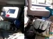 بالفيديو.. ماذا حدث لسيارة بعد انفجار اسطوانة غاز داخلها بسبب حرارة الجو ؟!