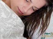 هل يُخلف النوم بالشعر المبلل أمراضاً!!!