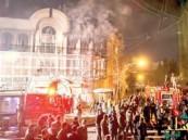 النظام الإيراني يقيم محاكمة صورية للمعتدين على سفارة المملكة في #طهران